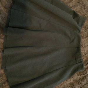 Brandy Melville schoolgirl style black skirt